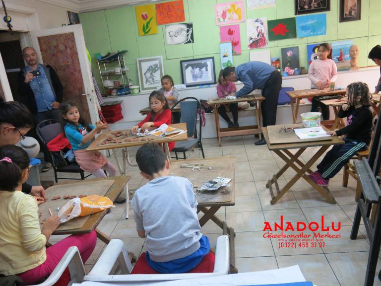 Çocuklar İçin Sanat Eğitimleri Çukurova