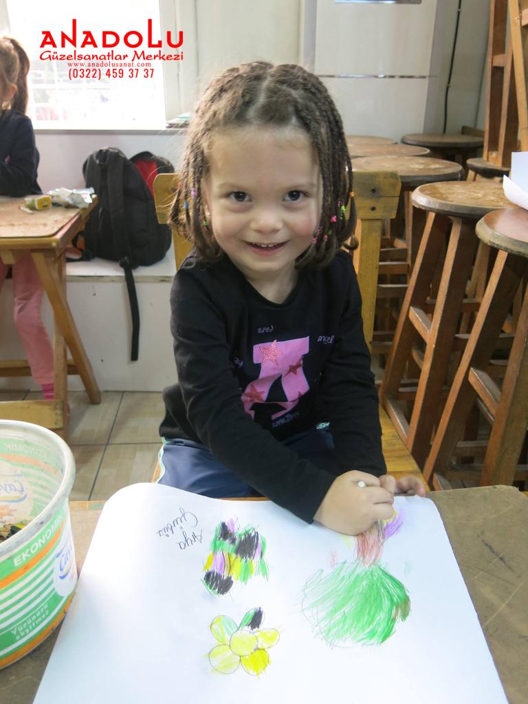 Çocuklar İçin Çizim Atölyeleri Çukurova