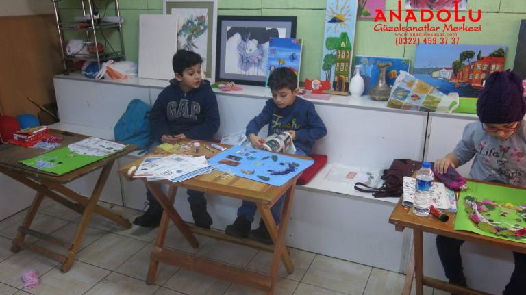 Çukurova'da Çocuklar İçin Yaratıcı Kurslar